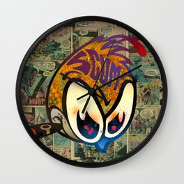 Scumble Bee Wall Clock