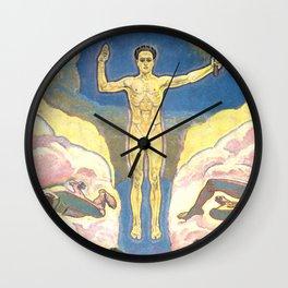 """Koloman (Kolo) Moser """"The Light"""" Wall Clock"""