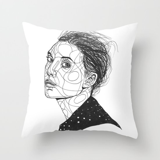 Lykke Li Throw Pillow