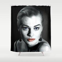 Anita Ekberg Large Size Portrait Shower Curtain