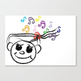 Music Swaggie [SWAG] Canvas Print
