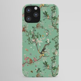 Monkey World Green iPhone Case