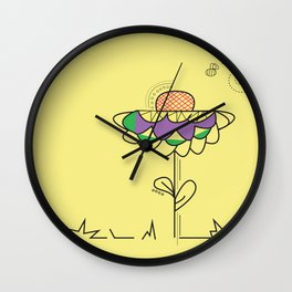 A summer's day Wall Clock