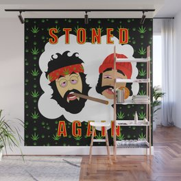 Stoned Again Black Edition Wall Mural