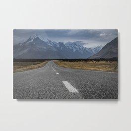 Mount Cook Road 2 Metal Print