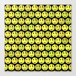 smiley face symbol Canvas Print