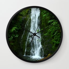 Madison Creek Falls Wall Clock