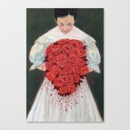 Blood Wedding Canvas Print