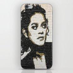 Keyboard Mosaic iPhone & iPod Skin