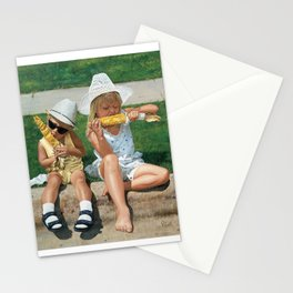 Corn on the Curb Stationery Cards