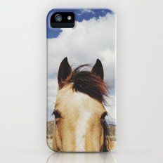 Cloudy Horse Head Slim Case iPhone (5, 5s)