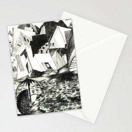Sailing Fish Stationery Cards