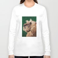 irish Long Sleeve T-shirts featuring Irish terrier by Carl Conway
