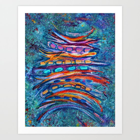 Shiga Art Print