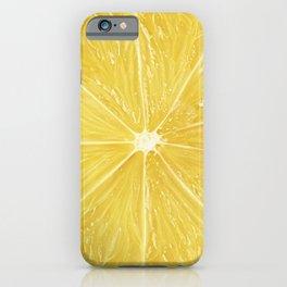 Slice of lemon iPhone Case