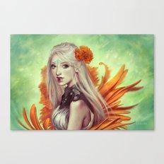 Miss Flowergarden Canvas Print