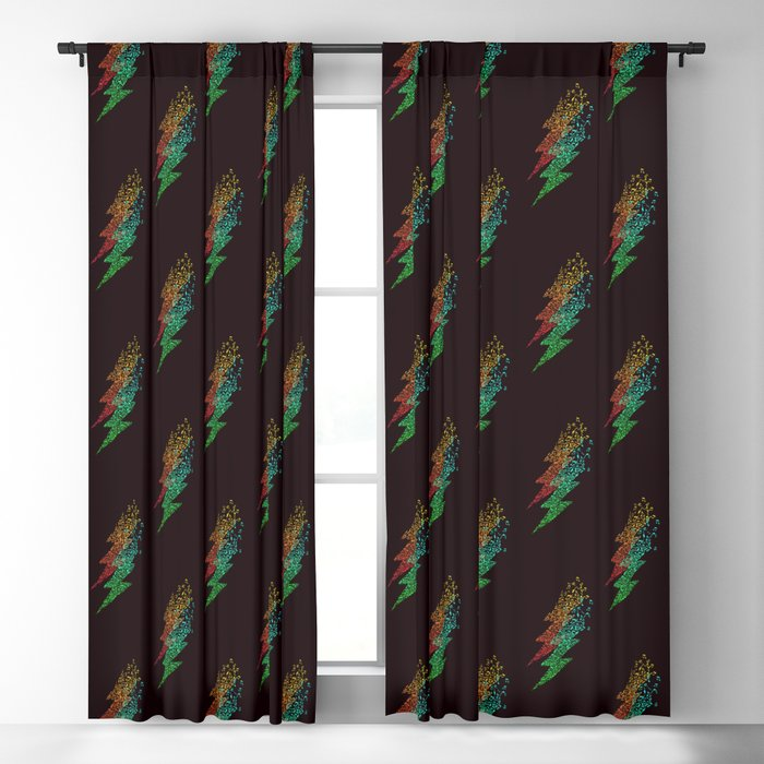 Electro music Blackout Curtain
