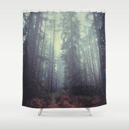 The magic trails Shower Curtain