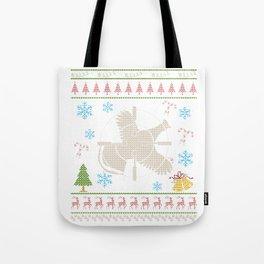 Grouse Hunting Chrismas Ugly Holiday Shirt Tote Bag