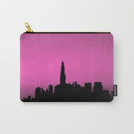 Pink Brooklyn Skyline Carry-All Pouch
