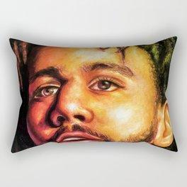 J.Cole Potrait Rectangular Pillow