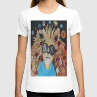 pocket fuel T-shirts featuring Fuel Your Imagination by AMFcreations