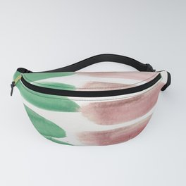 4 | 190403 Watercolour Painting Abstract Pattern Fanny Pack