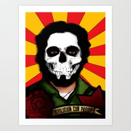 Calavera & Revolucion Art Print