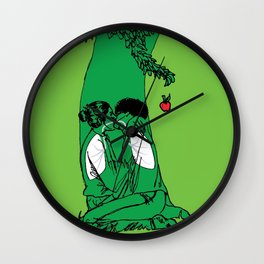The Giving Tree or The Taking Human Wall Clock