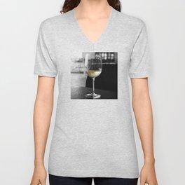 The Lone Companionship of Pinot Noir Unisex V-Neck