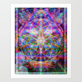 Metaphysical Realms Art Print