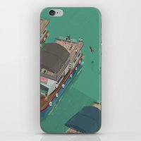 indonesia iPhone & iPod Skins featuring Toba - Indonesia by Joneta Witabora
