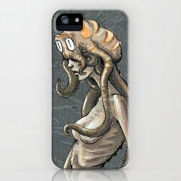 Octi-woman iPhone Case