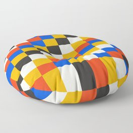 Pixels: Bauhaus Edition Floor Pillow