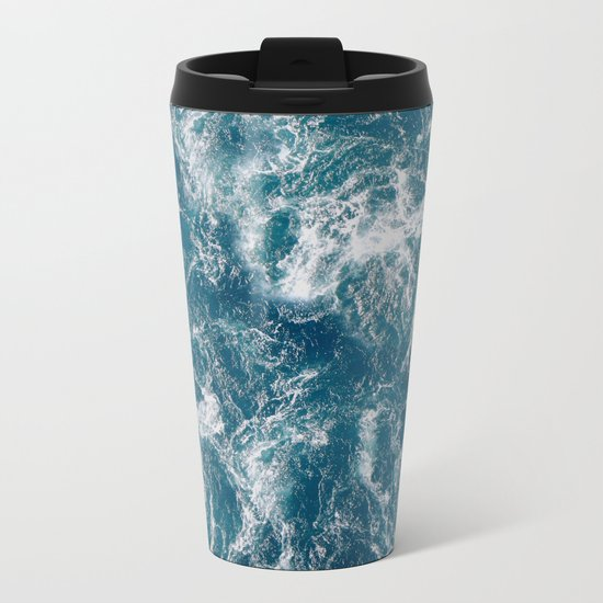 Sea water Metal Travel Mug