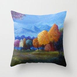 Ljossalfheim Throw Pillow