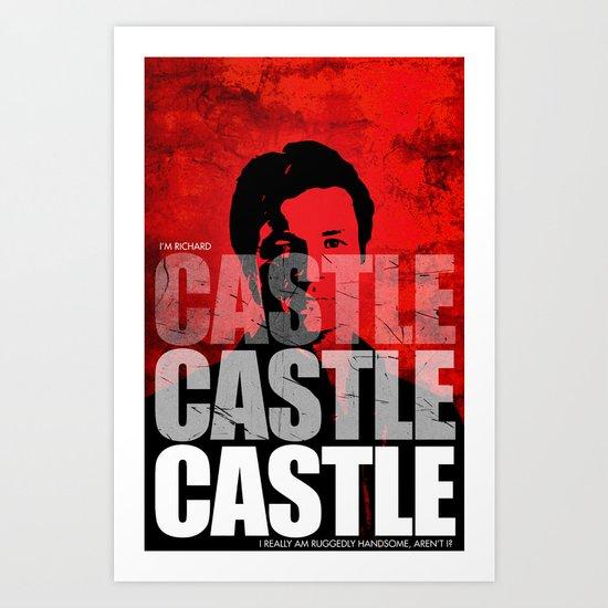 Castle Castle Castle Art Print