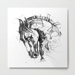 Hours Metal Print