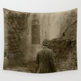 Longing for Holmes Wall Tapestry