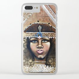 cleo Clear iPhone Case