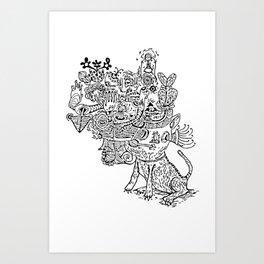 Graviola II Art Print