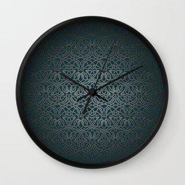 Jasmine Celtic Knotwork Wall Clock