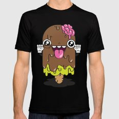 Brain Freeze Mens Fitted Tee Black SMALL