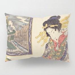 Geisha women Pillow Sham