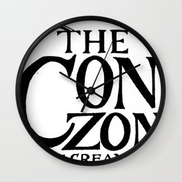 Cone Zone Ice Cream Parlor Wall Clock