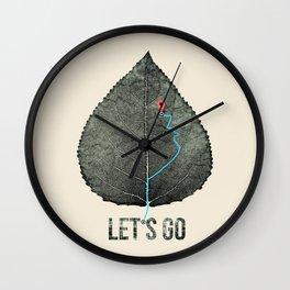 wildcity Wall Clock