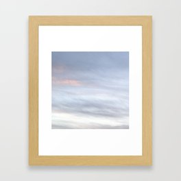 Clouded Dreams Framed Art Print