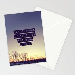 How Strange Stationery Cards