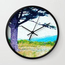 Shenandoah Overlook Wall Clock