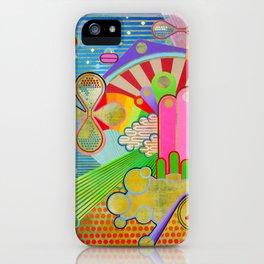 half 1 iPhone Case